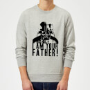 star-wars-darth-vader-i-am-your-father-confession-sweatshirt-grey-5xl-grau