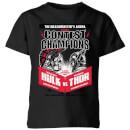 marvel-thor-ragnarok-champions-poster-kids-t-shirt-black-3-4-jahre-schwarz