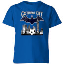 dc-comics-batman-fu-ball-gotham-city-kinder-t-shirt-blau-9-10-jahre-royal-blue