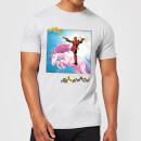 marvel-deadpool-unicorn-battle-herren-t-shirt-grau-xxl-grau