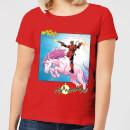 marvel-deadpool-unicorn-battle-damen-t-shirt-rot-xxl-rot, 17.99 EUR @ sowaswillichauch-de