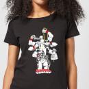 marvel-deadpool-multitasking-damen-t-shirt-schwarz-l-schwarz