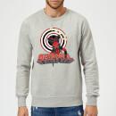 marvel-deadpool-upside-down-pullover-grau-m-grau, 28.99 EUR @ sowaswillichauch-de