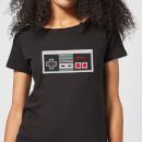 nintendo-nes-controller-chest-damen-t-shirt-schwarz-4xl-schwarz