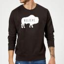 american-gods-believe-buffalo-sweatshirt-black-s-schwarz, 19.99 EUR @ sowaswillichauch-de