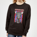 american-gods-skull-flag-women-s-sweatshirt-black-s-schwarz, 28.99 EUR @ sowaswillichauch-de