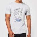 die-eiskonigin-elsa-sketch-strong-herren-t-shirt-grau-5xl-grau