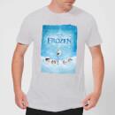die-eiskonigin-snow-poster-herren-t-shirt-grau-5xl-grau