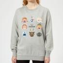 die-eiskonigin-emoji-heads-damen-pullover-grau-xxl-grau