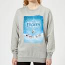 die-eiskonigin-snow-poster-damen-pullover-grau-5xl-grau