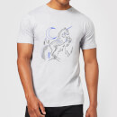 harry-potter-unicorn-line-art-herren-t-shirt-grau-xl-grau