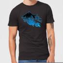 harry-potter-dementor-silhouette-herren-t-shirt-schwarz-4xl-schwarz