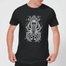harry-potter-aragog-line-art-herren-t-shirt-schwarz-5xl-schwarz