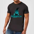 harry-potter-hogwarts-silhouette-herren-t-shirt-schwarz-s-schwarz