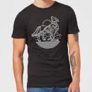 harry-potter-buckbeak-line-art-herren-t-shirt-schwarz-5xl-schwarz