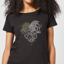 harry-potter-thestral-line-art-damen-t-shirt-schwarz-xs-schwarz