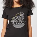 harry-potter-buckbeak-line-art-damen-t-shirt-schwarz-5xl-schwarz