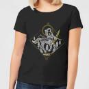 harry-potter-centaur-line-art-damen-t-shirt-schwarz-xxl-schwarz