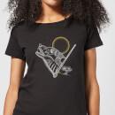 harry-potter-werwolf-line-art-damen-t-shirt-schwarz-5xl-schwarz