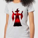 harry-potter-minerva-mcgonagall-silhouette-damen-t-shirt-grau-5xl-grau