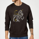 harry-potter-unicorn-line-art-pullover-schwarz-l-schwarz