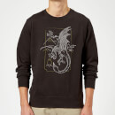 harry-potter-dragon-line-art-pullover-schwarz-l-schwarz