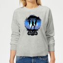 harry-potter-silhouette-attack-women-s-sweatshirt-grey-s-grau