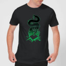 harry-potter-nagini-silhouette-herren-t-shirt-schwarz-m-schwarz