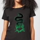 harry-potter-nagini-silhouette-damen-t-shirt-schwarz-m-schwarz