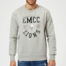 east-mississippi-community-college-lions-sweatshirt-grey-m-grau