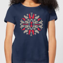 natural-history-museum-dinosaurs-and-fossils-women-s-t-shirt-navy-l-marineblau