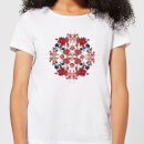 natural-history-museum-flowers-and-leaves-women-s-t-shirt-white-l-wei-