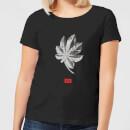 natural-history-museum-tropical-leaf-fashion-print-women-s-t-shirt-black-l-schwarz