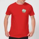 natural-history-museum-t-rex-badge-men-s-t-shirt-red-l-rot