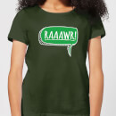 raaawr-women-s-t-shirt-forest-green-m-forest-green