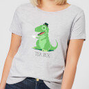 tea-rex-women-s-t-shirt-grey-s-grau