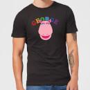 rainbow-george-club-herren-t-shirt-schwarz-xl-schwarz