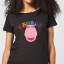 rainbow-george-club-frauen-t-shirt-schwarz-xl-schwarz