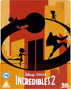 Die Unglaublichen 2 3D (Inkl. 2D Version) - Zavvi UK Exklusives Steelbook