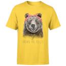 balazs-solti-break-the-rules-men-s-t-shirt-yellow-s-gelb