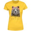 balazs-solti-break-the-rules-women-s-t-shirt-yellow-s-gelb