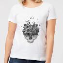 skulls-and-flowers-women-s-t-shirt-white-s-wei-