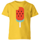 my-little-rascal-watermelon-lolly-kids-t-shirt-yellow-3-4-jahre-gelb