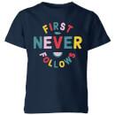 my-little-rascal-first-never-follows-kids-t-shirt-navy-11-12-jahre-marineblau