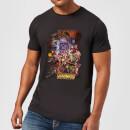 avengers-team-portrait-herren-t-shirt-schwarz-l-schwarz