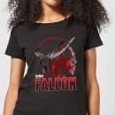 avengers-falcon-damen-t-shirt-schwarz-xs-schwarz