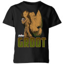 avengers-groot-kids-t-shirt-schwarz-11-12-jahre-schwarz