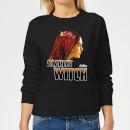avengers-scarlet-witch-damen-pullover-schwarz-s-schwarz