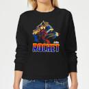 avengers-rocket-damen-pullover-schwarz-xs-schwarz