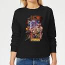 avengers-team-portrait-damen-pullover-schwarz-xxl-schwarz